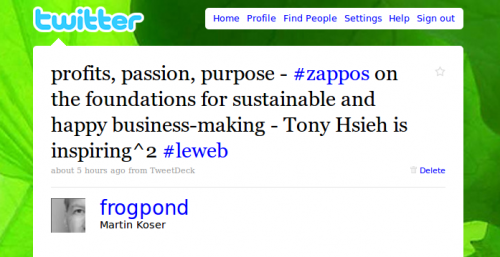 Zappos _ profits, passion, purpose